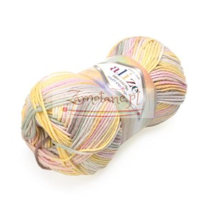 Włóczka Cotton Gold Plus Multi 52175